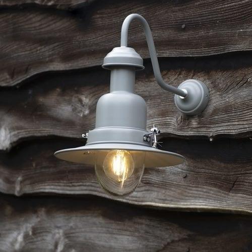 Fishing Lamp in Charcoal