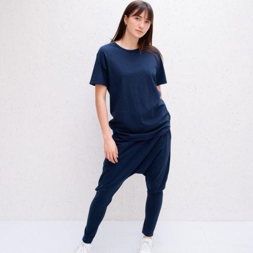 Soft Jersey T-Shirt - Navy