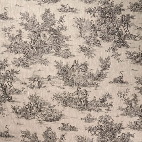 Limoges French Toile Charcoal