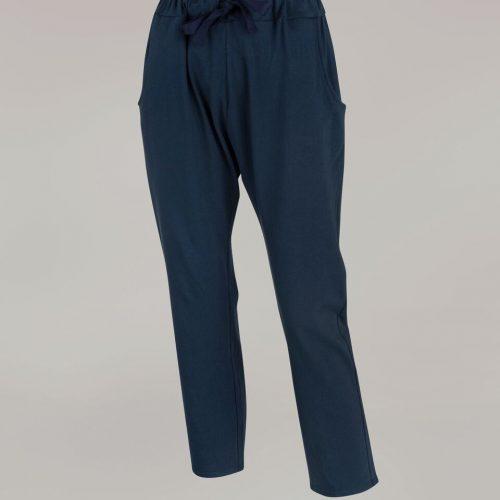 Navy Jersey Pants