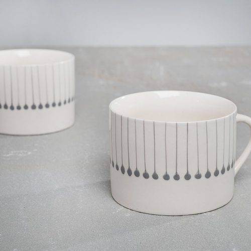Iba Grey Mug