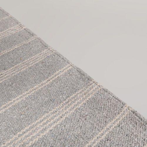 Blue Pinstripe Stripe Rug