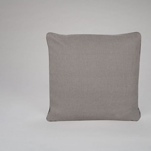 Mole Grey Linen Cushion