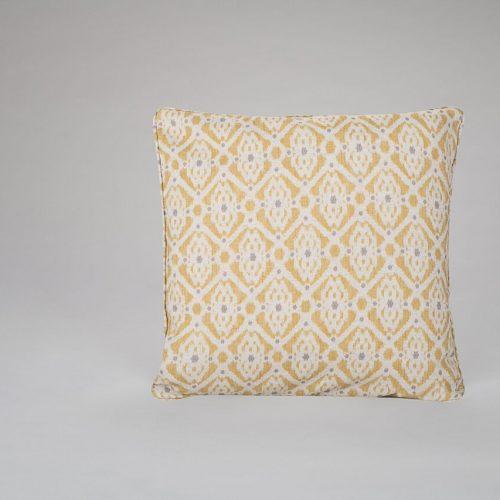 Saphira Saffron Cushion