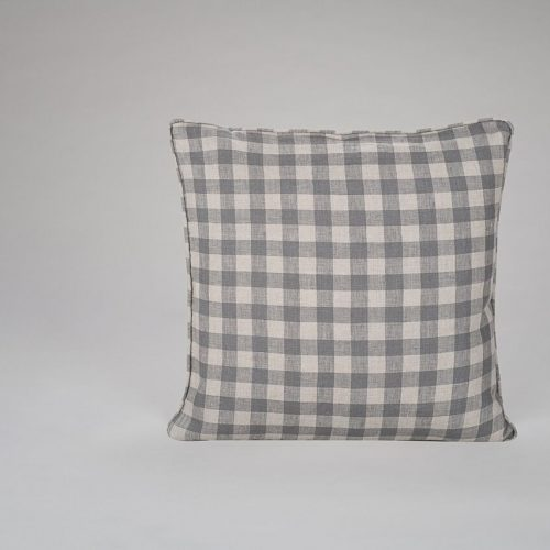 Mullion Check Cushion
