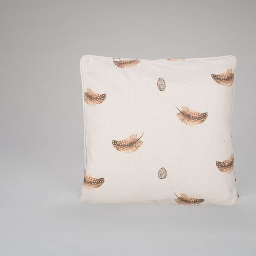 Feather and Egg Cushion