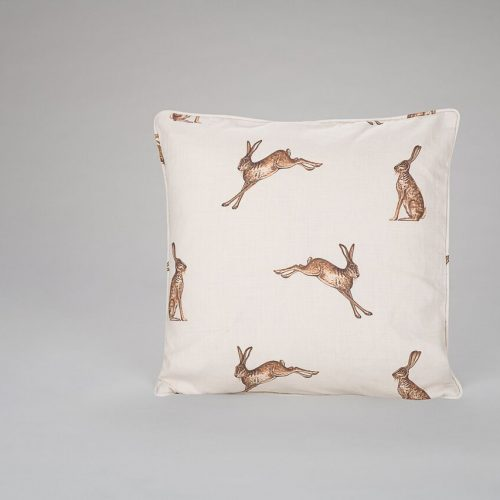 Hares Fudge Cushion