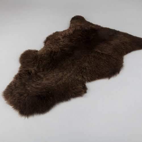 Natural Brown Sheepskin