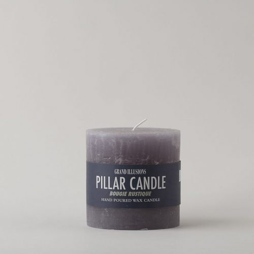 Light Grey Short Candle