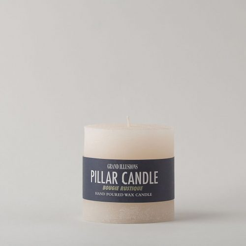White Short Candle