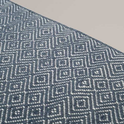 Diamond Navy Rug