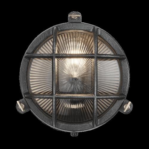 Round Bulk Head - Black