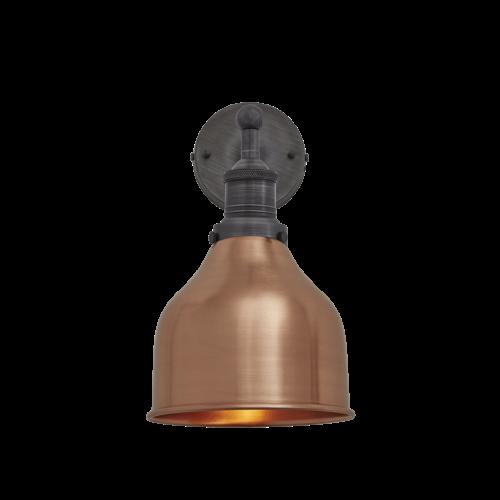 Brooklyn Cone Wall Light - 7 Inch - Copper