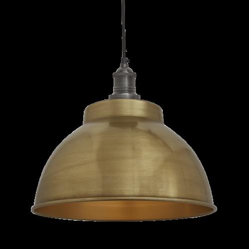 Brooklyn Dome - 13 Inch - Brass