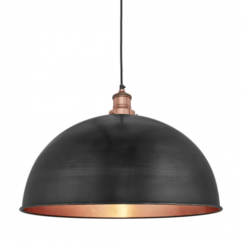 Brooklyn Dome - 18 Inch - Pewter & Copper
