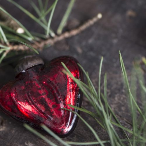 Red Heart Decoration