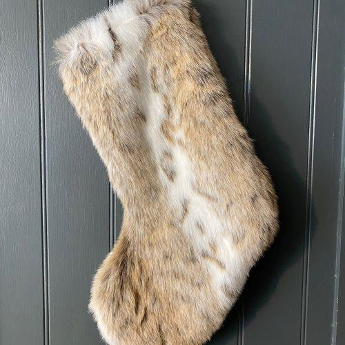 Luxury Faux Fur Stocking