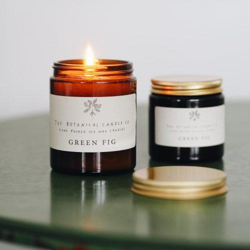 Botanical Candles - Green Fig