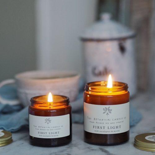 Botanical Candles - First Light