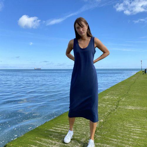 Rachel Dress - Navy