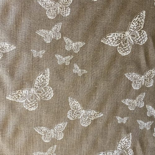 6.6m Butterflies on Linen