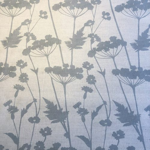 8.2m Country Garden Blue Grey