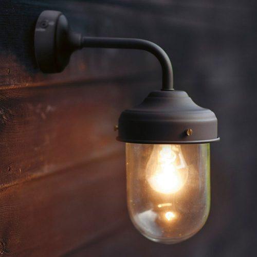 Barn Light in Coffee Bean