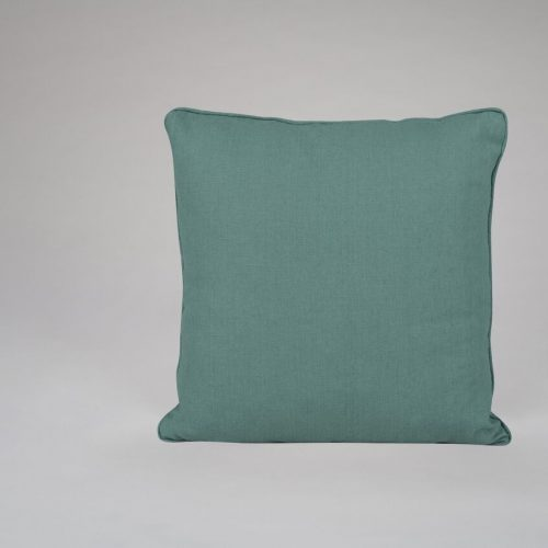 Teal Linen Cushion