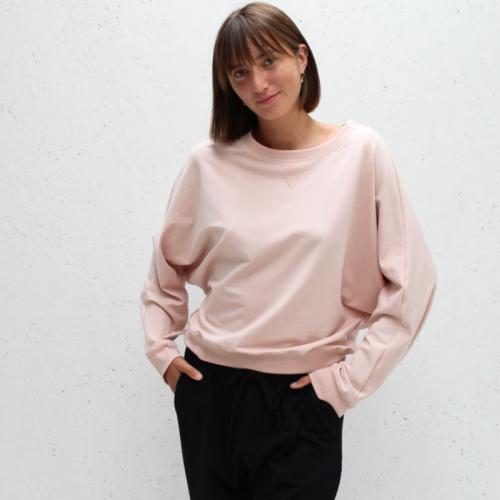 Oversized Sweatshirt - Dusky Pink
