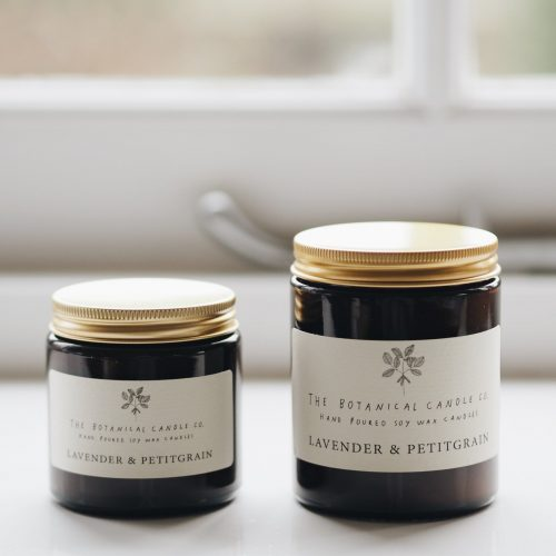 Botanical Candles - Lavender & Petitgrain