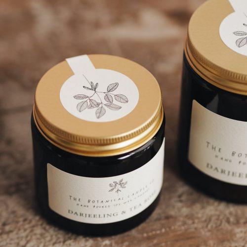 Botanical Candles - Darjeeling & Tea Rose
