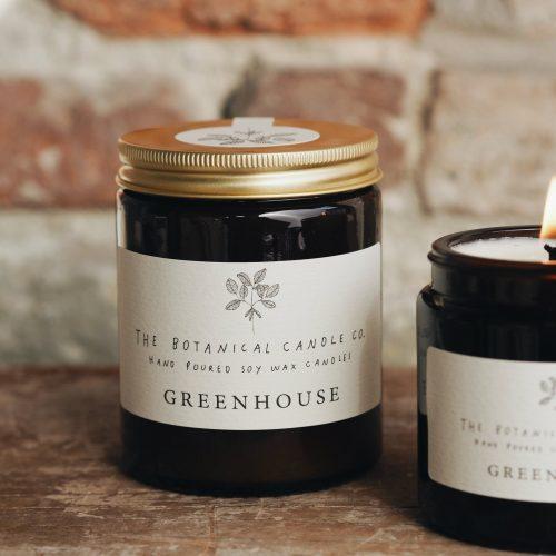 Botanical Candles - Greenhouse