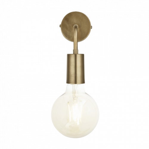 Edison Wall Light - Brass