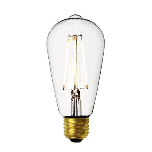 Pear LED Filament Bulb