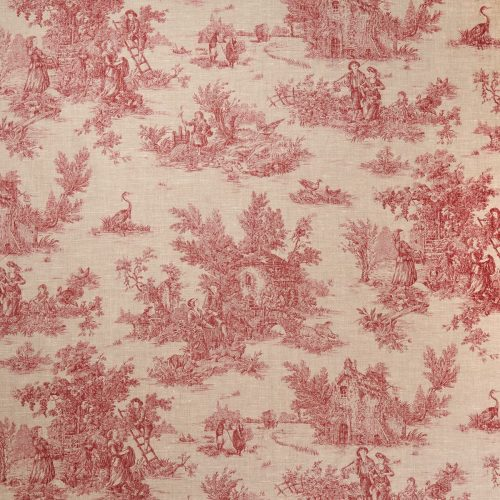 Limoges French Toile Red