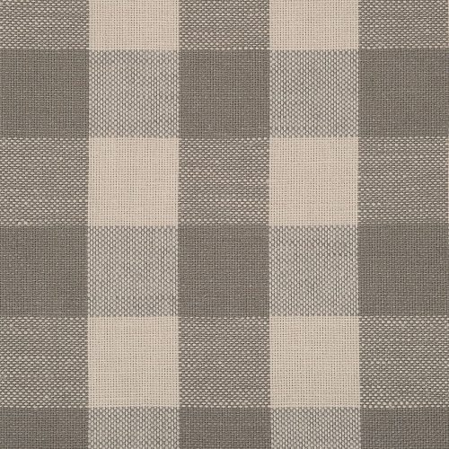 Large Grey/Taupe Check