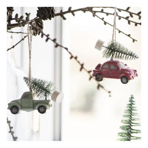 Truck and Christmas Tree Decoration
