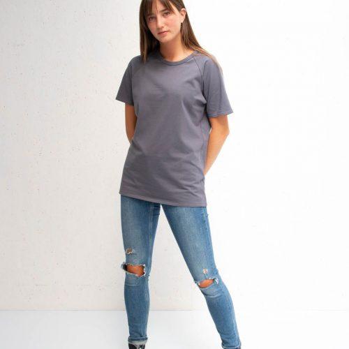 Darcey T-Shirt - Charcoal