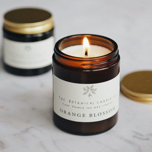 Botanical Candles - Orange Blossom