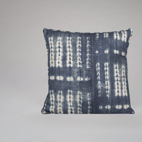 Indigo Artisan Cushion