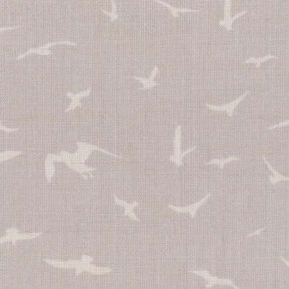Seagulls Gustavian Grey Background on Ivory
