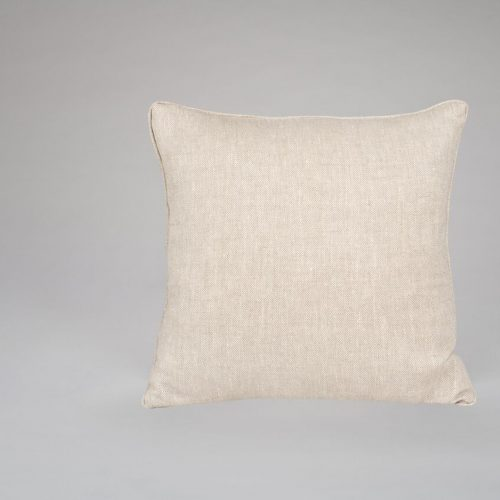 Natural Herringbone Cushion