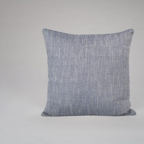 Diamond Weave Navy Cushion