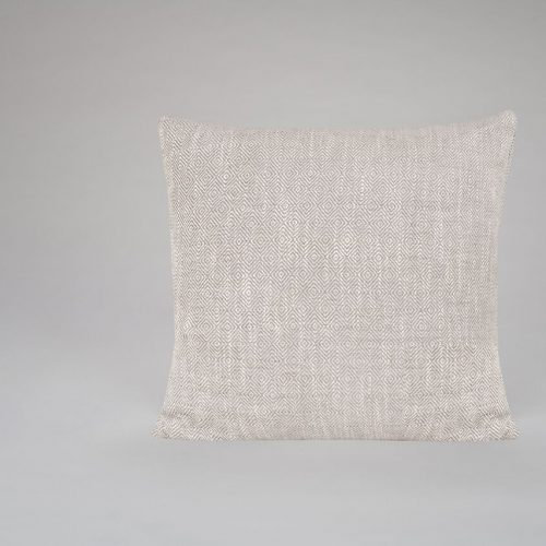 Diamond Weave Grey Cushion